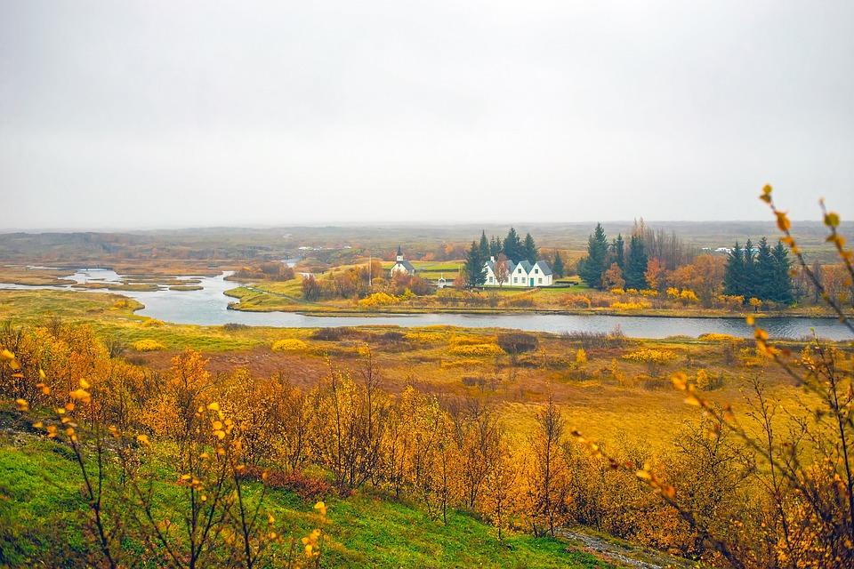 Iceland, Landscape, Scenic, Fall, Autumn, Colors