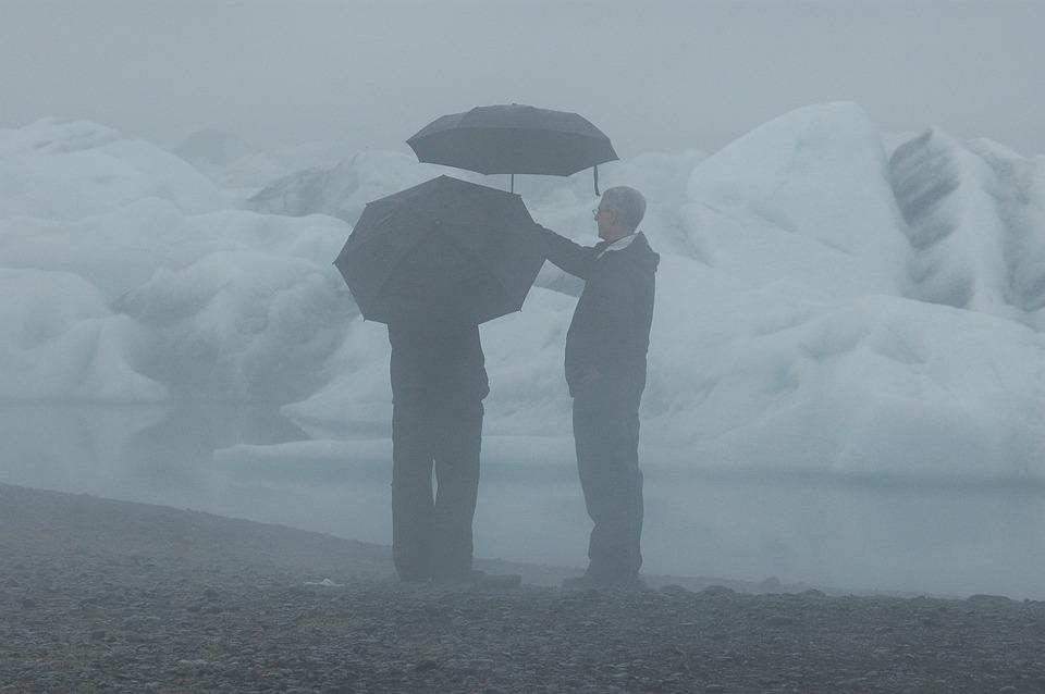 Iceland, Rain, Mood, Nature, Glacier, Landscape