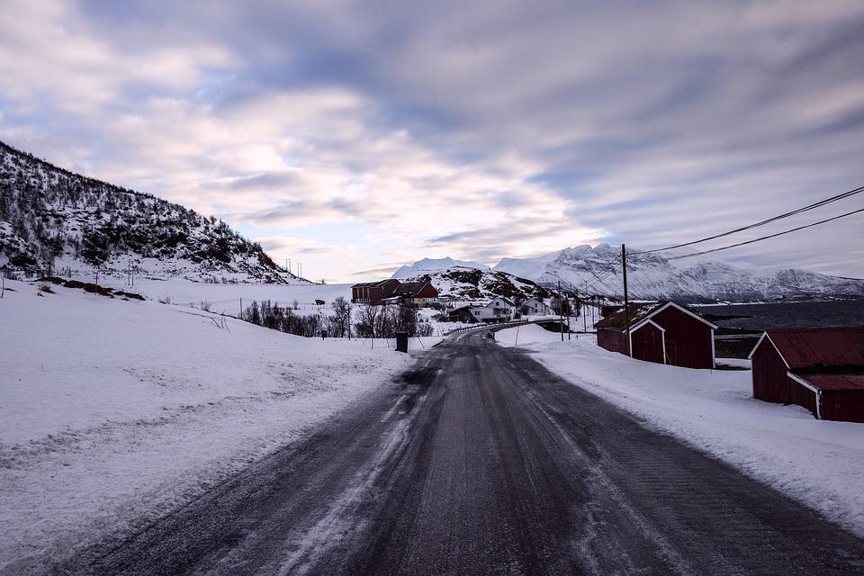 Iceland, Snow, The Scenery