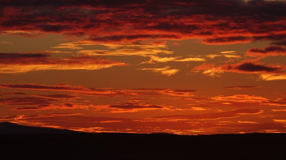 Sunset Iceland, Midnight Sun, Iceland Summer Night