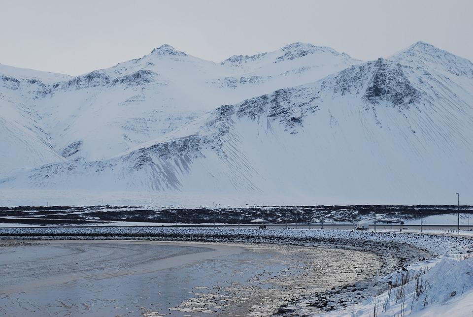 Iceland, Nature, Mountain, Icelandic, Landscape, Snow