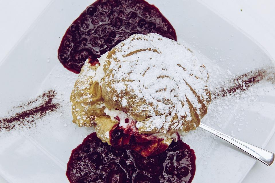 Cream Puff, Specialty, Eat, Dessert, Sweet, Icing Sugar