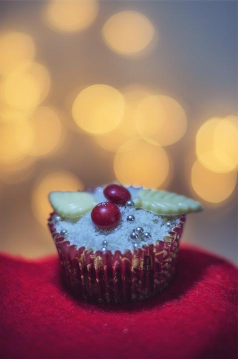 Cupcake, Dessert, Icing, Sweets, Treats, Festive