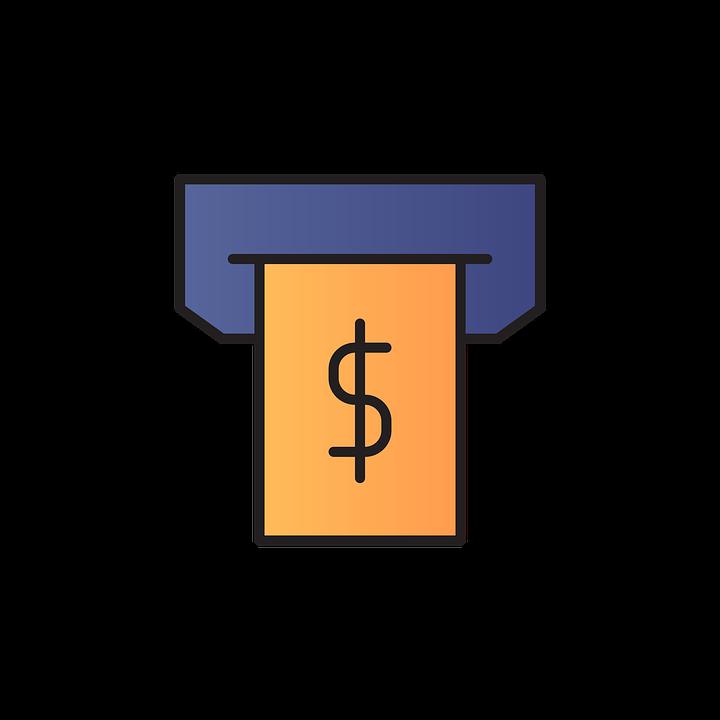 Cash, Dollar, Icon, Cash Draw, Money, Banknote, Finance