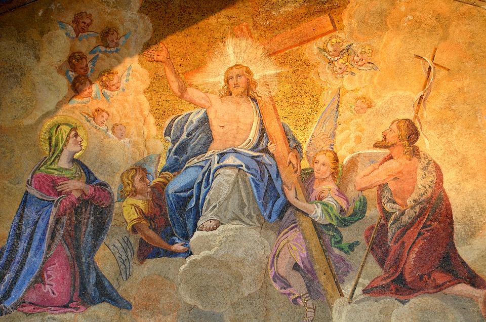 Icon, St Mark's Basilica, Church Image, Historically