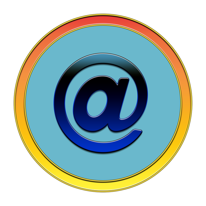 At, Email, Icon, Button, Media, Communication