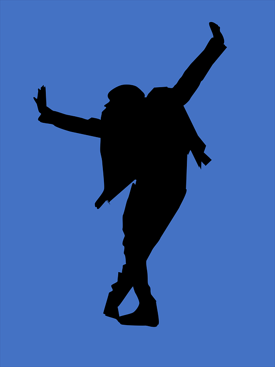 Silhouette, Dancing, Dancer, Icon, Dancer Icon