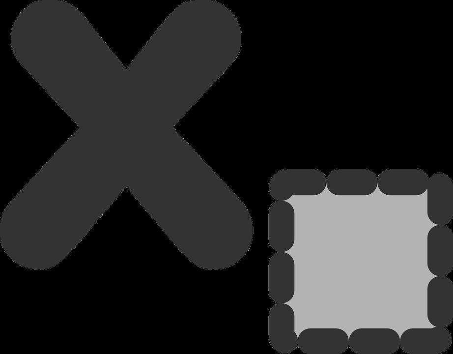 Delete, Icon, Symbol