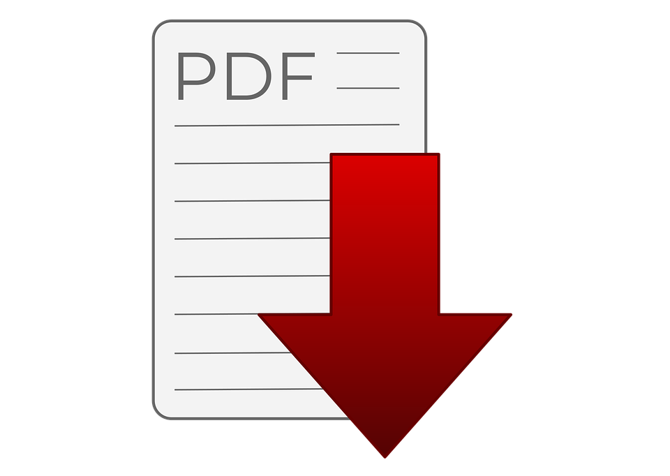 Download Pdf, Pdf, Symbol, Download, Icon, Red, Button