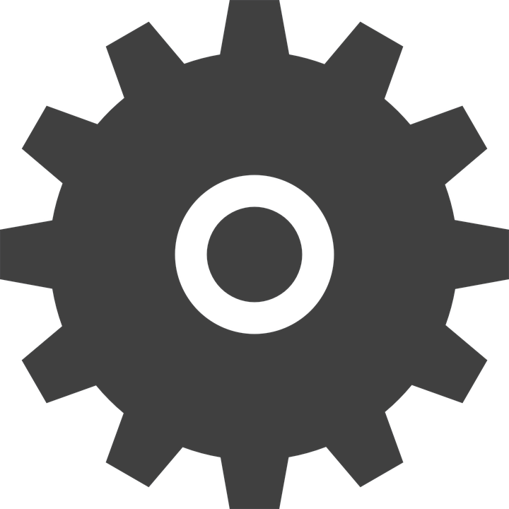 Gear, Transmission, Settings, Industry, Icon