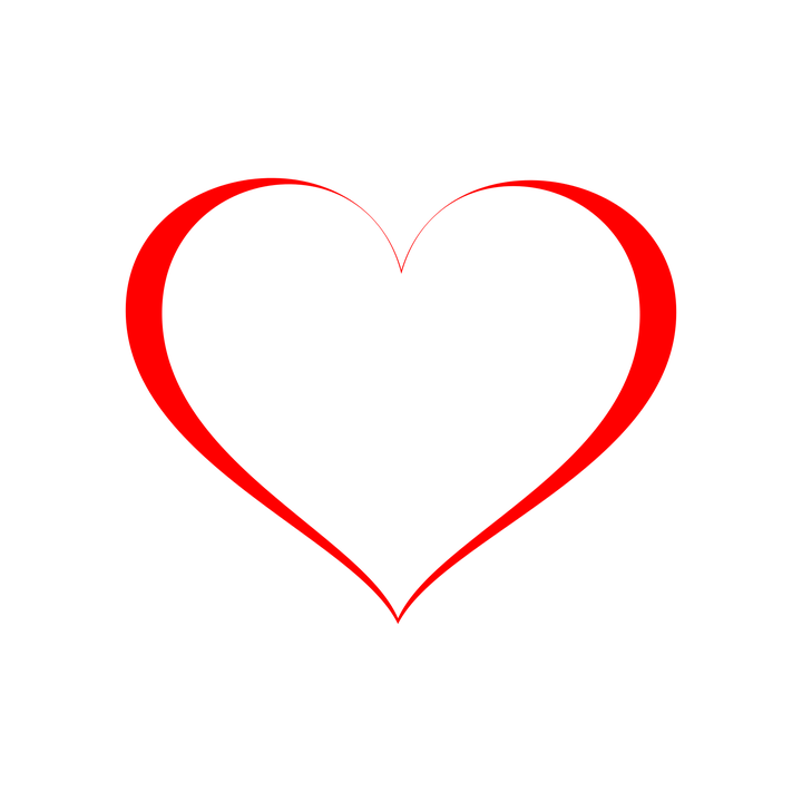 Heart vector transparent