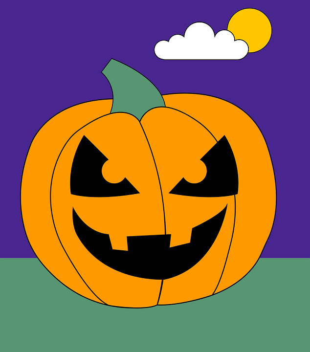 Halloween, Pumpkin, Jack-o'-lantern, Icon