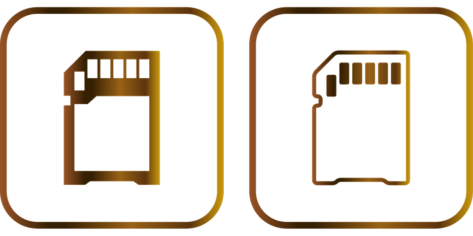 Memory, Memory Card, Storage, Data, Icon