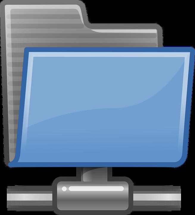 Icon, Folder, Network, Directory, Computing, Data