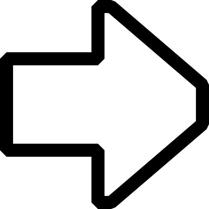 Arrow, Pointing, Right, Sign, Symbol, Icon, Forward