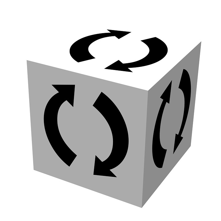 Recycle, Logo, Cube, Recycle Logo, Symbol, Sign, Icon