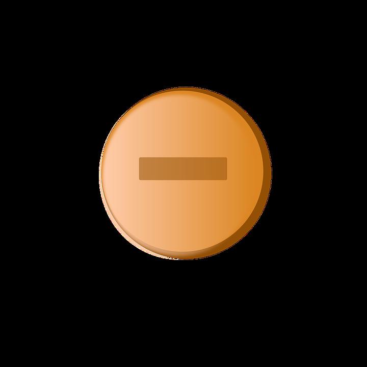 Minus Button, Minus, Icon, Delete, Sign, Button