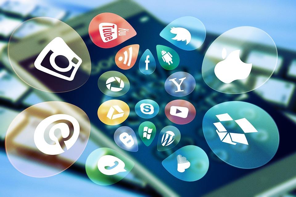 Social Media, Social, Keyboard, Icon, Smartphone, Media