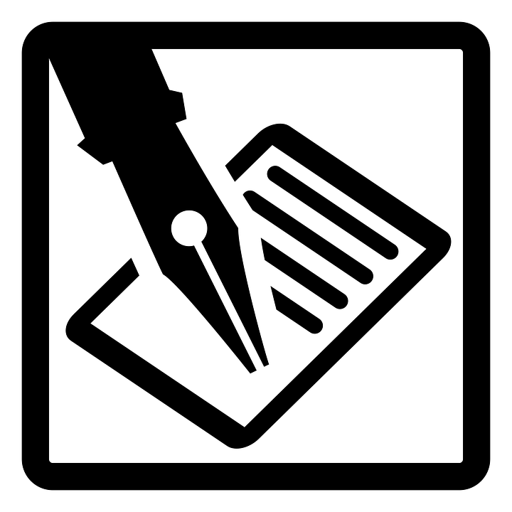 Write, Letter, Mail, Pen, Text, Icon