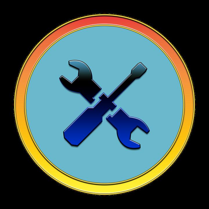 Tools, Fix, Icon, Button, Media, Wrench, Screwdriver