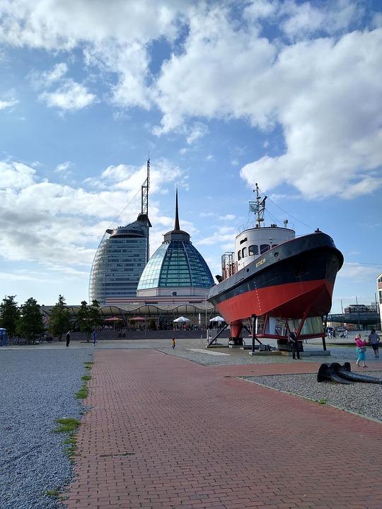 Ship, Boat, Icons, Scenic