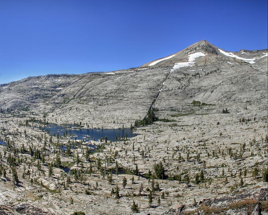 Idaho, Mountains, Lake, Water, Trees, Sky, Snow, Spring
