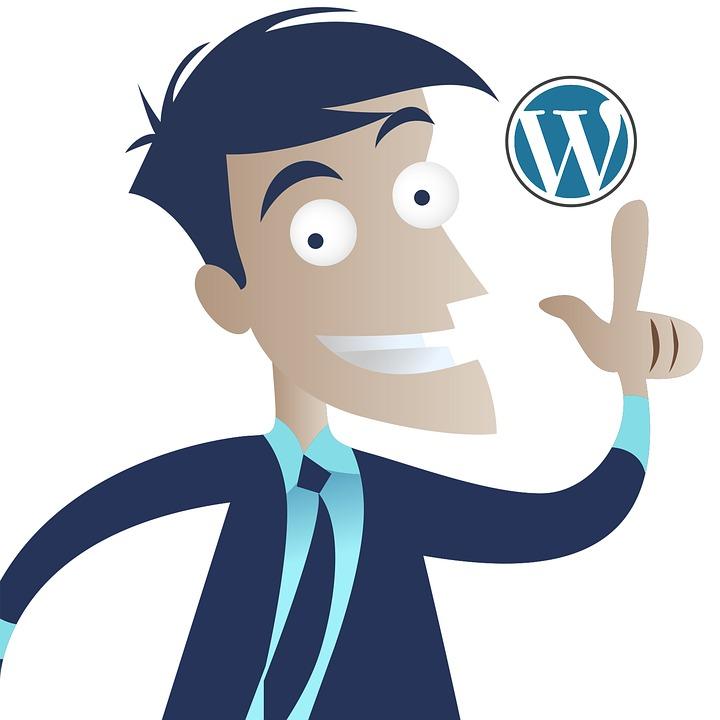 Wordpress, Idea, Business Man