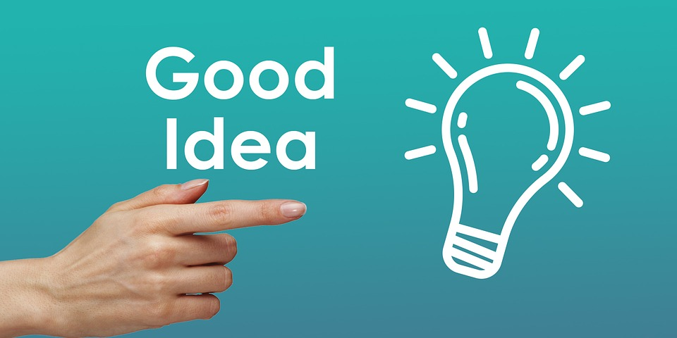Good Idea, Idea, Light, Bulb, Lightbulb, Business, Good