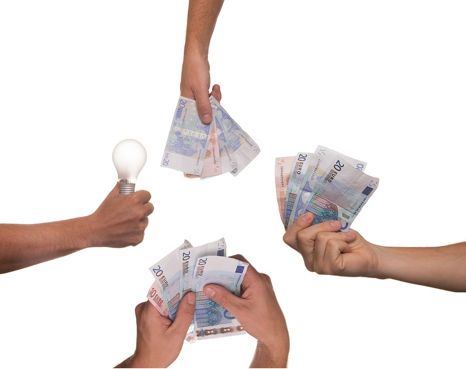 Crowdfunding, Idea, Bulb, Money, Project, Investment
