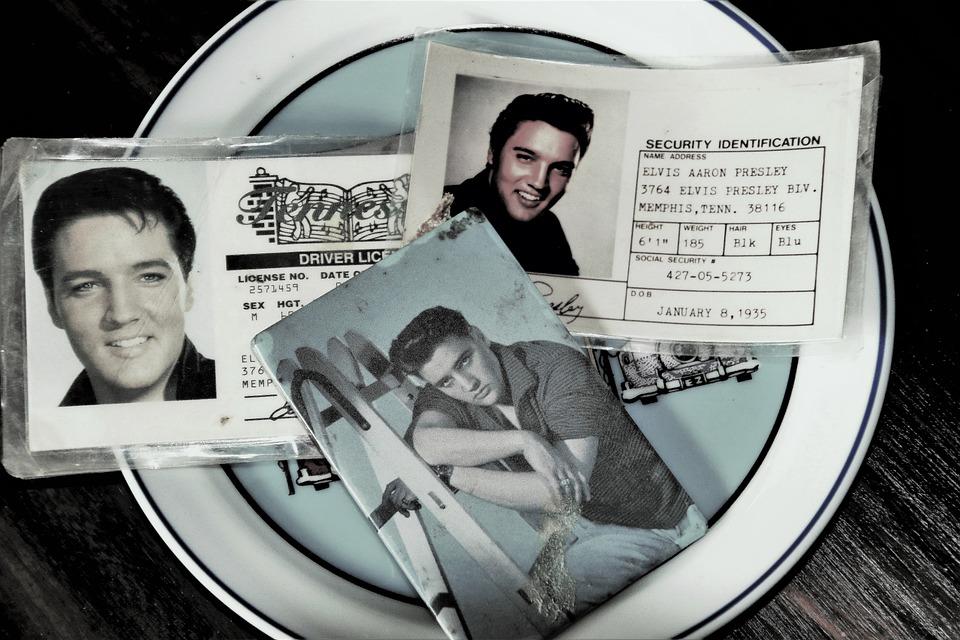 Idol, Elvis Presley, Id, Collection, Old, Genuine