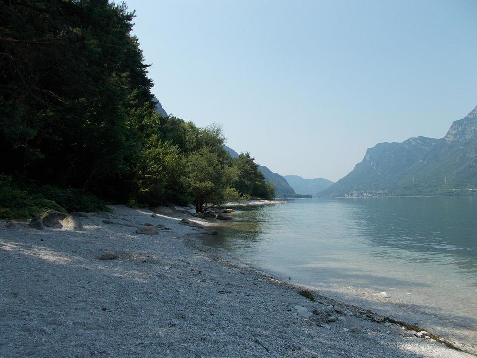 Italy, Lake Idro, Summer, Idyllic, Landscape, Rest