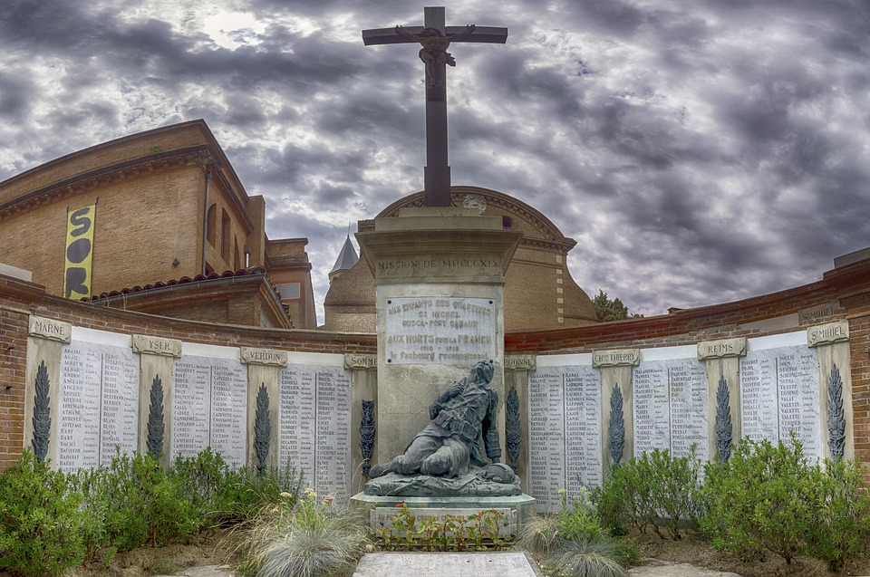 Tomb, Igm, Soldiers, Heroes, French, War, Death
