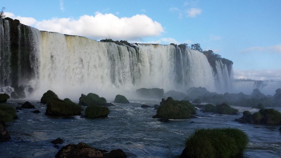 Foz, Iguaçu, Cataract, Water, Foz Do Iguaçu, Tourism