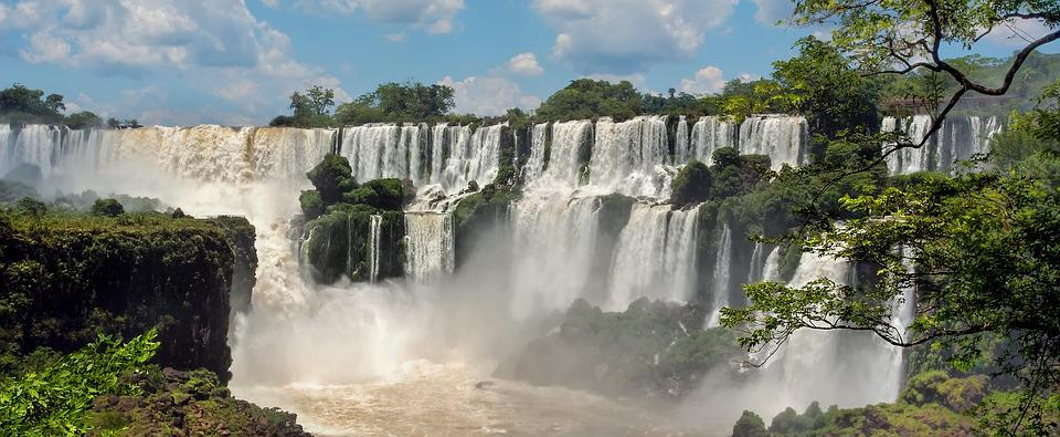 Iguazu Falls, Argentina, Iguazu, River, Waterfall