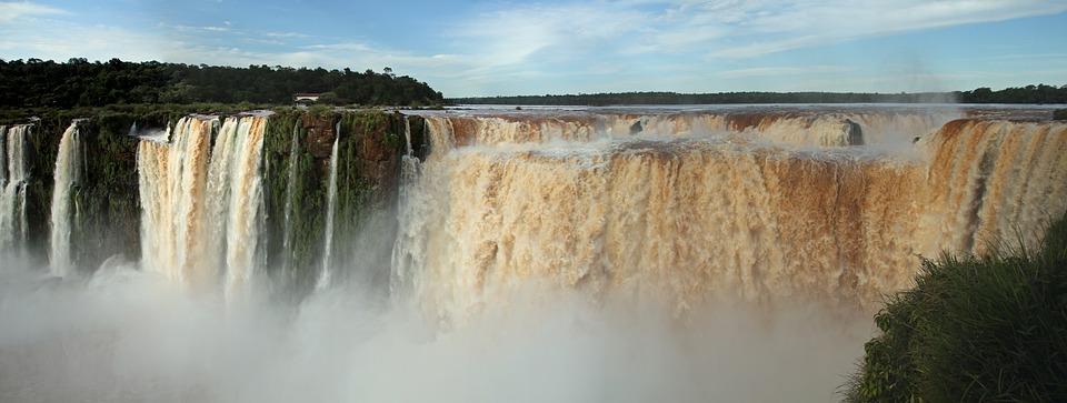 Iguazu Falls, Argentina, Falls, Waterfall, Park