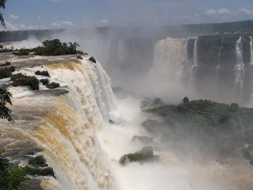 Mouth Iguaçu, Iguazu Falls, Paraná, Trip, Tourism