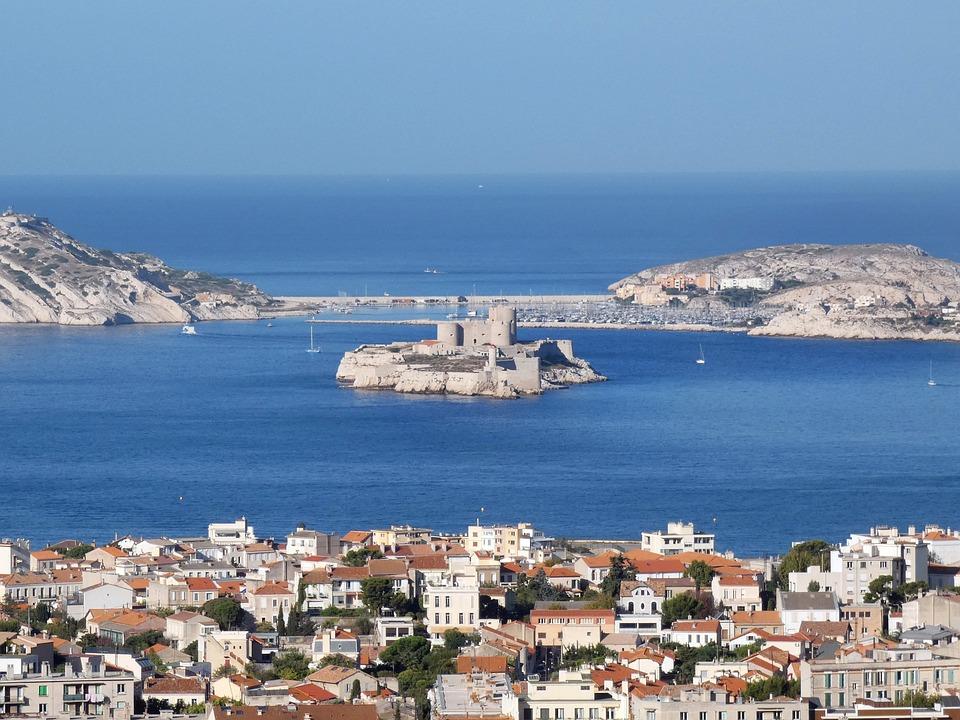 Marseille, Mediterranée, Castle Of Yew, Ile, Dantès