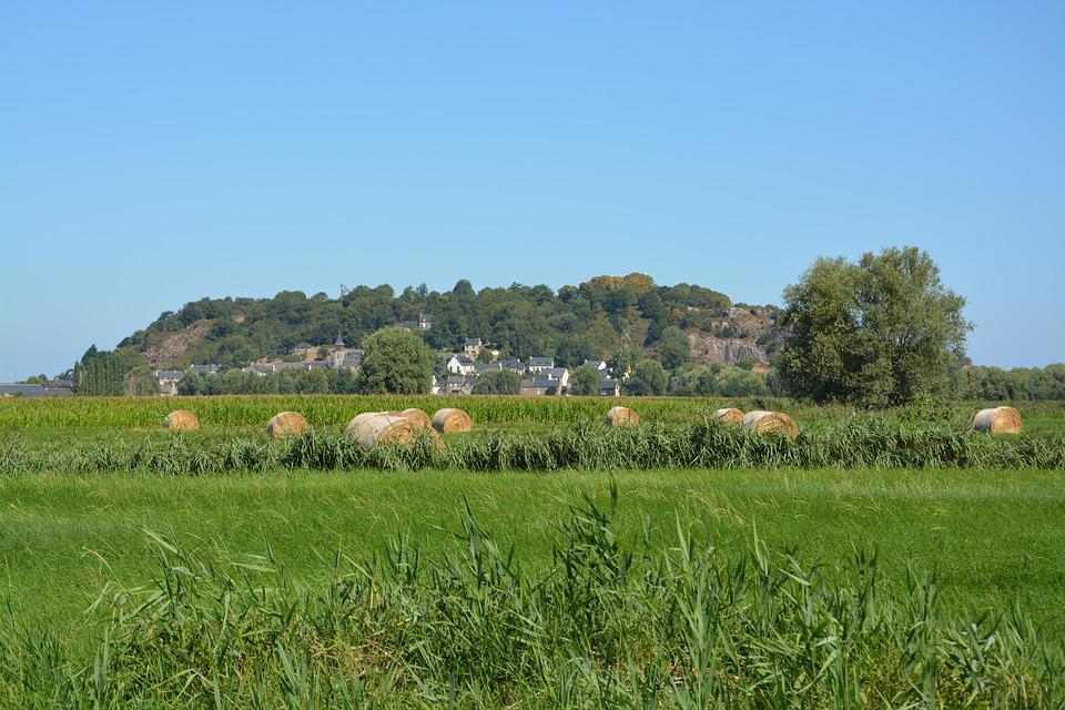 Panoramic View Of Mont Dol, Brittany, Ille Et Vilaine