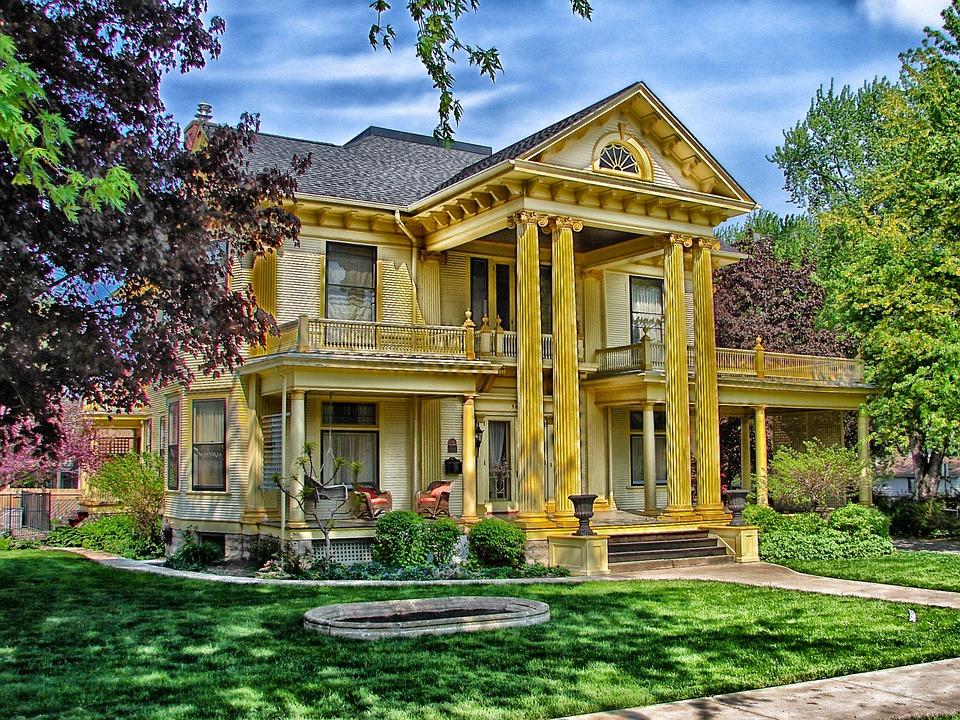 Rock Island, Illinois, House, Home, Landmark, Hdr