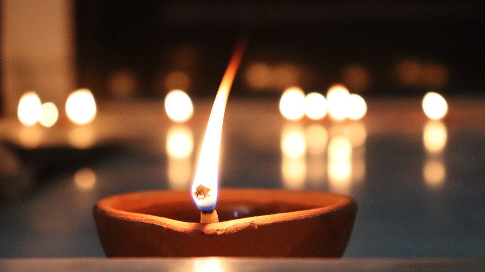 Candle, Candlelight, Blur, Illuminated, Relaxation