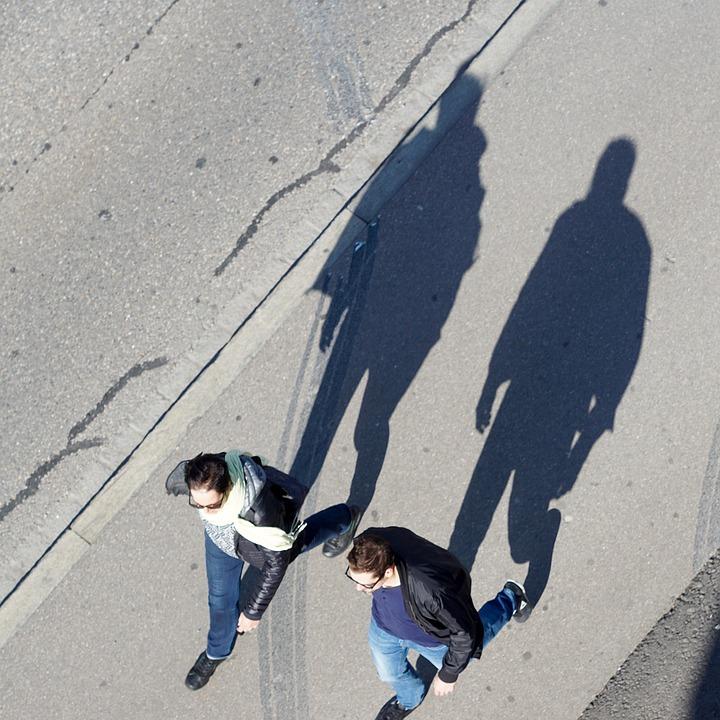 Shadow, Hispanic, Pedestrian, Copy, Image