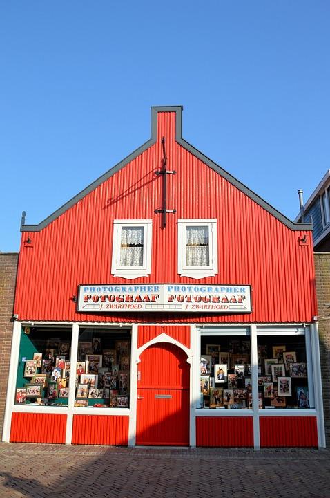 Shop, Photo, Volendam, Image, Culture, City, Holland