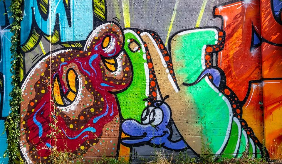 Grafitti, Image, Spray, Art, Wall, Sprayer, Facade