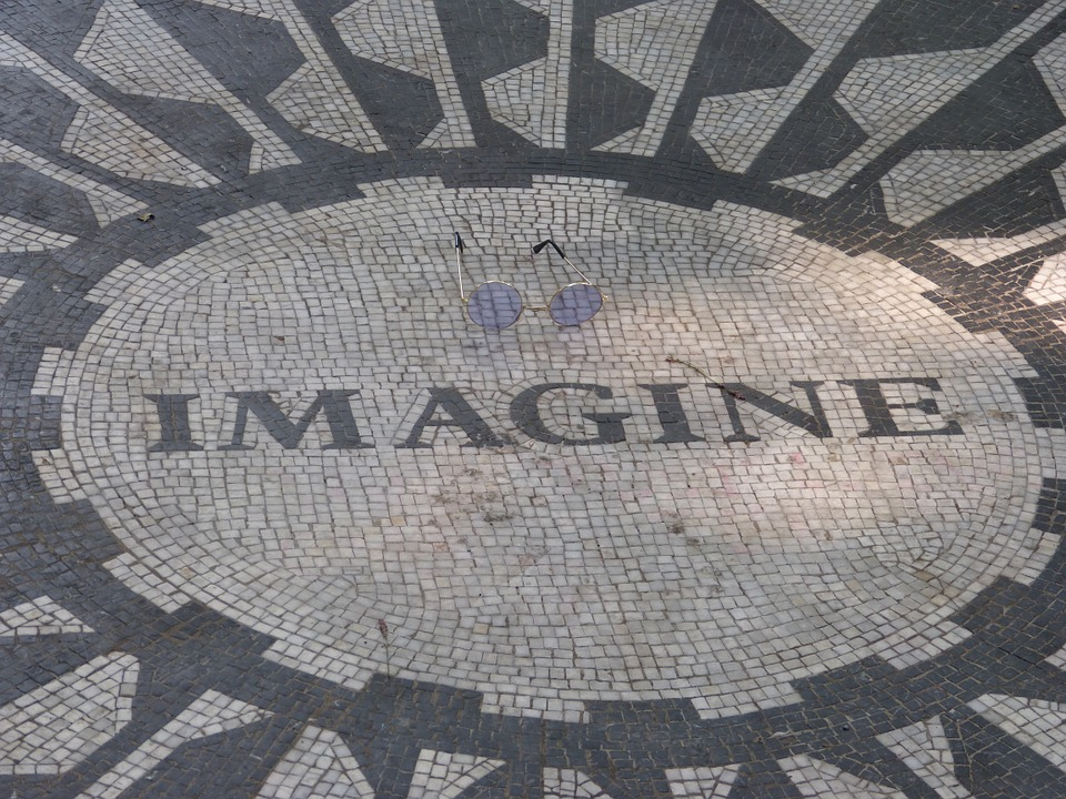 John Lennon, Imagine, Strawberry Fields, Central Park