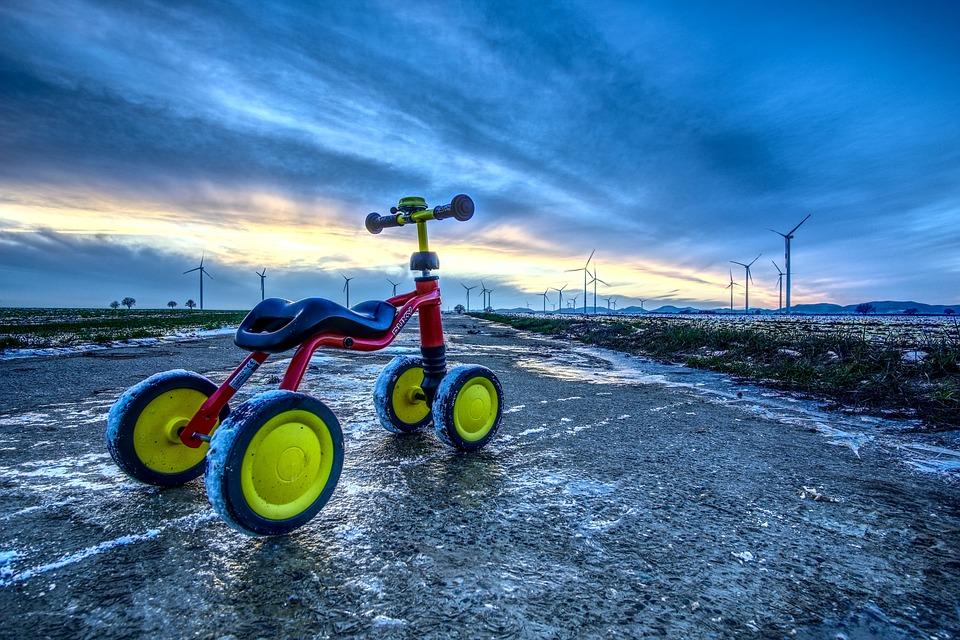 Children Toys, Bike, Impeller, Small, Road, Trail