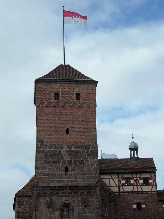 Nuremberg, Imperial Castle, Castle, Tower, Castle Tower