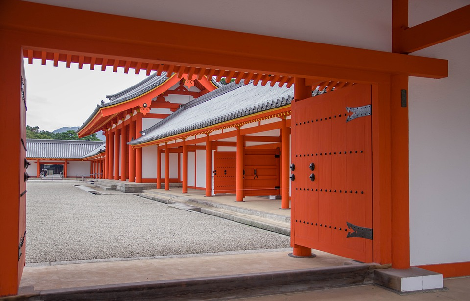 Japan, Kyoto, Imperial Palace, Architecture