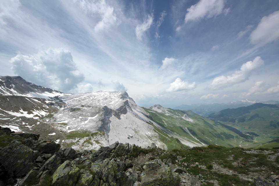 Ridge, Alpine, Imposing, Mountains, Impressive, Vision