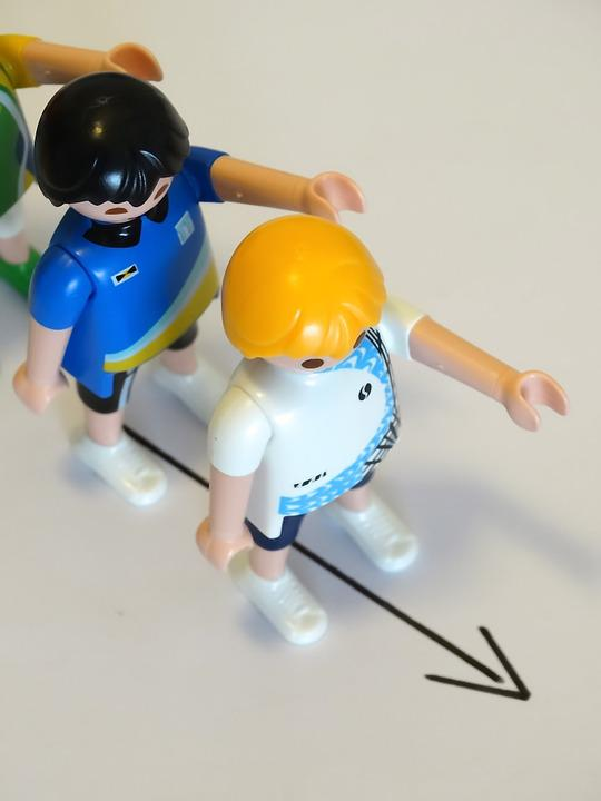 Playmobil, Figures, Toys, Personal, In A Row