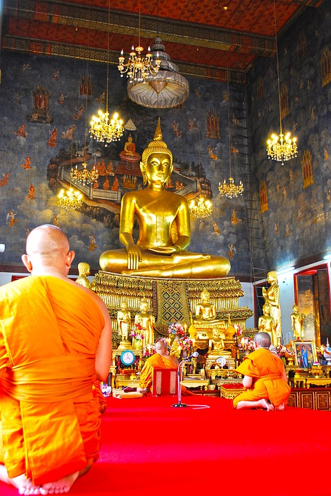 พระ, Wat Sa Ket, In Bot